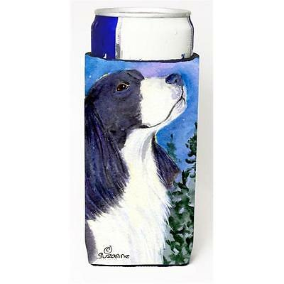English Springer Spaniel Michelob Ultra bottle sleeves For Slim Cans 12 oz.