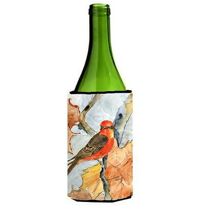 Carolines Treasures Bird Verimillion Flycatcher Wine Bottle Hugger 24 oz.