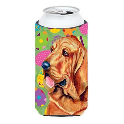Carolines Treasures Bloodhound Easter Eggtravaganza Tall Boy Hugger 22 To 24 oz.