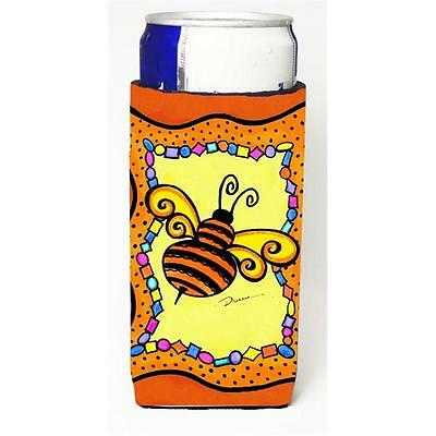 Carolines Treasures LD6050MUK Bee Michelob Ultra bottle sleeve for Slim Can • AUD 47.47