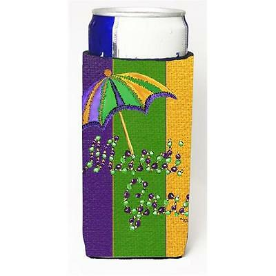 Mardi Grass Second Line Umbrella Michelob Ultra bottle sleeves For Slim Cans ...