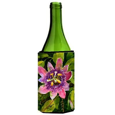 Carolines Treasures MM6055LITERK Flower Passion Flower Wine bottle sleeve Hugger