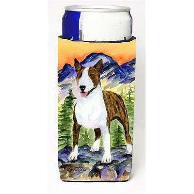 Carolines Treasures Bull Terrier Michelob Ultra bottle sleeve for Slim Can