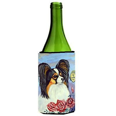 Carolines Treasures Papillon Yellow Butterfly Wine bottle sleeve Hugger