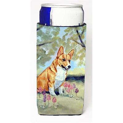 Carolines Treasures 7054MUK Corgi Michelob Ultra bottle sleeve for Slim Can