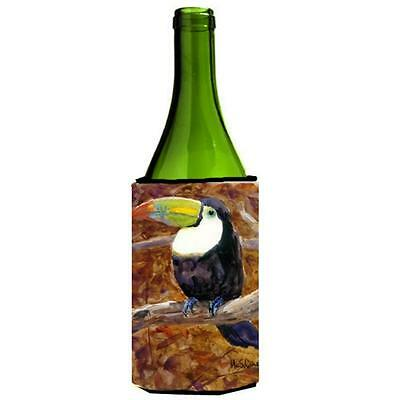 Carolines Treasures MM6036LITERK Bird Toucan Wine bottle sleeve Hugger