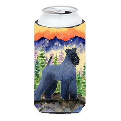 Kerry Blue Terrier Tall Boy bottle sleeve Hugger 22 to 24 oz.