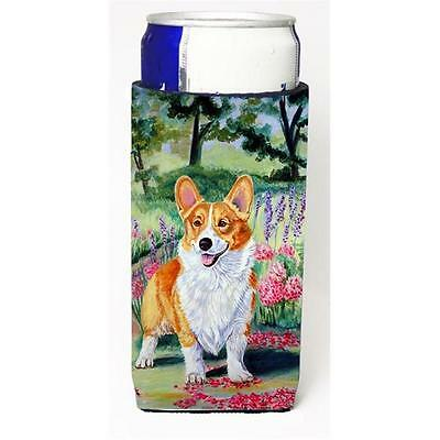 Pembroke Corgi Springtime Michelob Ultra bottle sleeves For Slim Cans 12 oz.