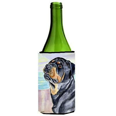 Carolines Treasures 7107LITERK Rottweiler Wine bottle sleeve Hugger 24 oz.