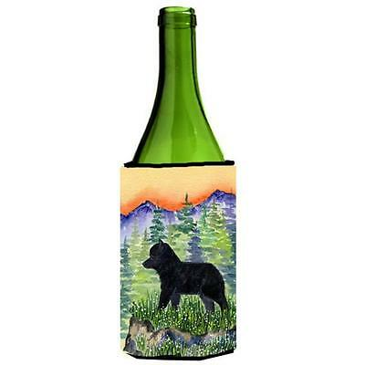 Carolines Treasures SS8231LITERK Schipperke Wine bottle sleeve Hugger 24 oz.