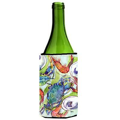 Carolines Treasures Fish Dolphin Mahi Mahi Wine bottle sleeve Hugger 24 oz.