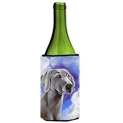 Carolines Treasures Weimaraner Azure Skies Wine bottle sleeve Hugger 24 oz.
