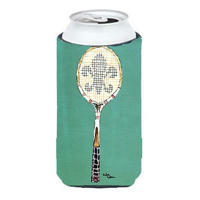 Carolines Treasures Tennis Racket Fleur De Lis Tall Boy bottle sleeve Hugger