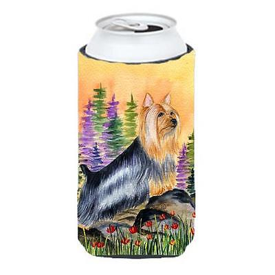 Carolines Treasures Silky Terrier Tall Boy bottle sleeve Hugger 22 To 24 oz.