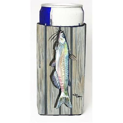 Carolines Treasures Fish Catfish Michelob Ultra bottle sleeve for Slim Can