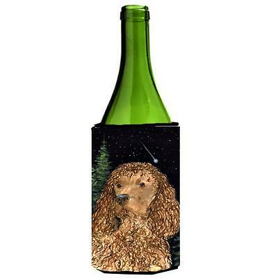 Carolines Treasures American Water Spaniel Wine bottle sleeve Hugger 24 oz.