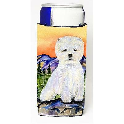 Carolines Treasures SS8159MUK Westie Michelob Ultra bottle sleeve for Slim Can