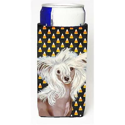 Chinese Crested Candy Corn Halloween Portrait Michelob Ultra bottle sleeves F...