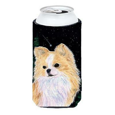 Starry Night Chihuahua Tall Boy bottle sleeve Hugger 22 To 24 oz.