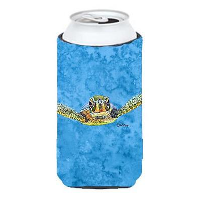 Turtle Coming at you Tall Boy bottle sleeve Hugger 22 to 24 oz.