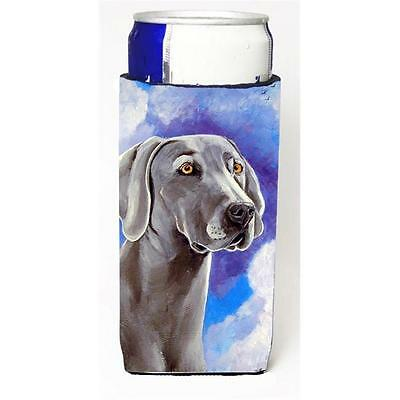 Weimaraner Azure Skies Michelob Ultra bottle sleeves for slim cans 12 oz.