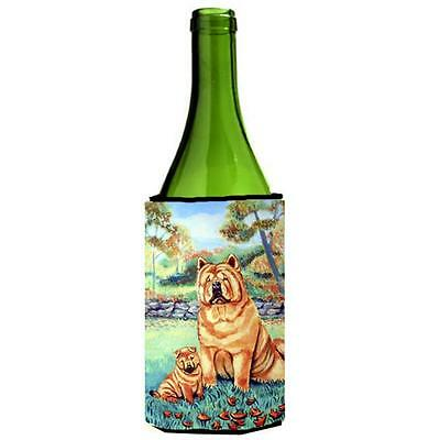 Carolines Treasures 7057LITERK Chow Chow Mommas Love Wine bottle sleeve Hugger