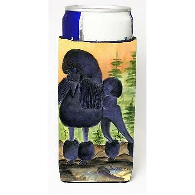 Carolines Treasures SS8196BMUK Poodle Michelob Ultra bottle sleeve for Slim Can