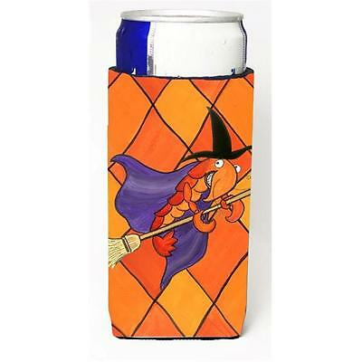 Crawfish Witch Halloween Michelob Ultra bottle sleeve for Slim Can