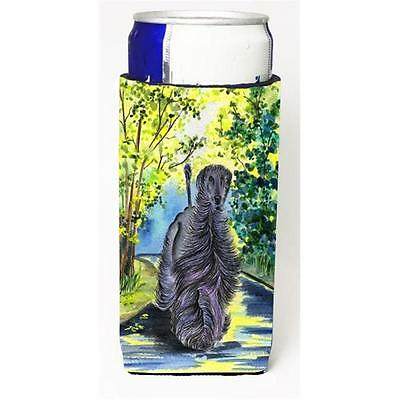 Carolines Treasures Afghan Hound Michelob Ultra bottle sleeve for Slim Can