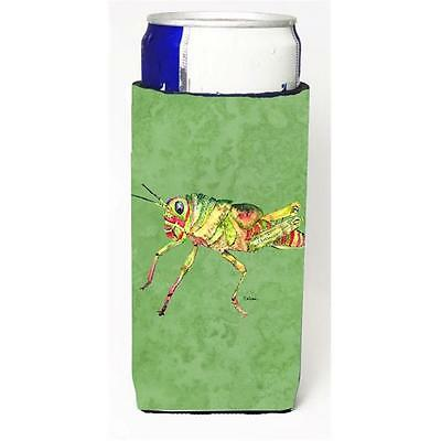Grasshopper On Avacado Michelob Ultra bottle sleeves For Slim Cans 12 oz.