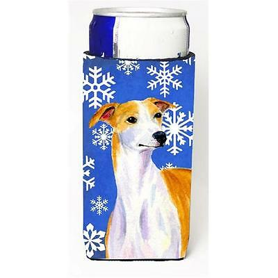 Whippet Winter Snowflakes Holiday Michelob Ultra bottle sleeves For Slim Cans...