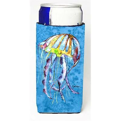 Carolines Treasures Jellyfish Michelob Ultra bottle sleeves For Slim Cans 12 oz.