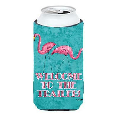 Welcome To The Trailer Tall Boy bottle sleeve Hugger 22 To 24 oz.
