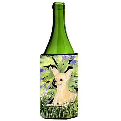 Carolines Treasures SS8325LITERK Chihuahua Wine bottle sleeve Hugger 24 oz.