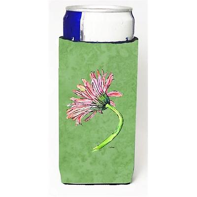 Gerber Daisy Pink Michelob Ultra bottle sleeves For Slim Cans 12 oz.