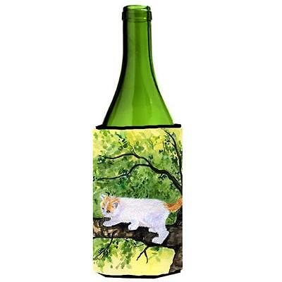 Carolines Treasures Cat Turkish Van Wine bottle sleeve Hugger 24 oz. • AUD 48.26