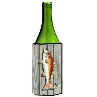 Carolines Treasures 8489LITERK Fish Red Fish Wine bottle sleeve Hugger
