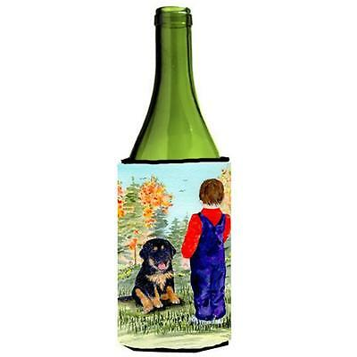 Carolines Treasures Tibetan Mastiff Wine bottle sleeve Hugger 24 oz.