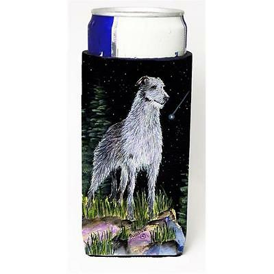 Starry Night Scottish Deerhound Michelob Ultra bottle sleeves For Slim Cans 1...