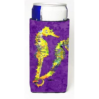 Seahorse Couple Michelob Ultra bottle sleeves For Slim Cans 12 oz.