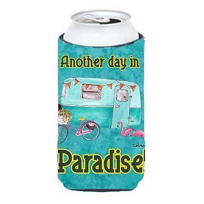 Another Day In Paradise Tall Boy bottle sleeve Hugger 22 To 24 oz.