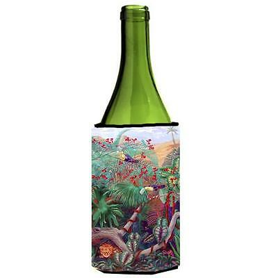 Carolines Treasures 7144LITERK Bird Toucan Wine bottle sleeve Hugger 24 oz.