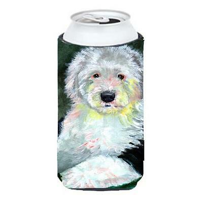 Carolines Treasures 7252TBC Old English Sheepdog Tall Boy bottle sleeve Hugger • AUD 47.47