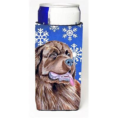 Newfoundland Winter Snowflakes Holiday Michelob Ultra bottle sleeves For Slim...