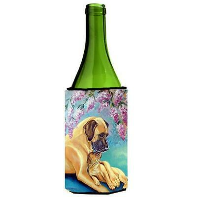 Carolines Treasures 7233LITERK Great Dane And Puppy Wine bottle sleeve Hugger