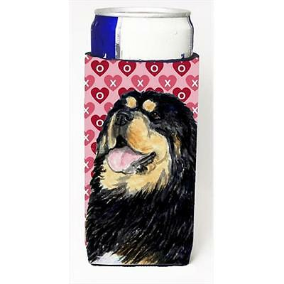 Tibetan Mastiff Hearts Love Valentines Day Michelob Ultra bottle sleeves For ...