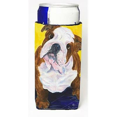 Carolines Treasures English Bulldog Michelob Ultra bottle sleeves For Slim Cans