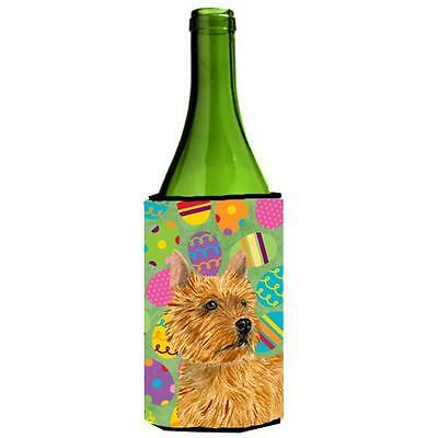 Norwich Terrier Easter Eggtravaganza Wine bottle sleeve Hugger