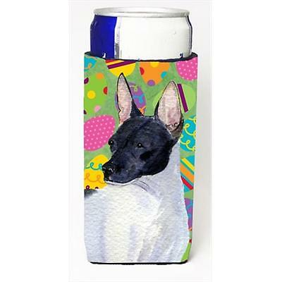 Rat Terrier Easter Eggtravaganza Michelob Ultra bottle sleeves For Slim Cans • AUD 47.47