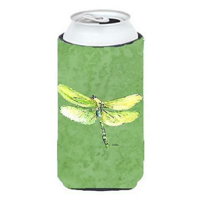 Dragonfly On Avacado Tall Boy bottle sleeve Hugger 22 To 24 oz.